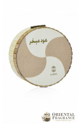 Ajmal Oud Mubakhar 25gms Bamboo Box