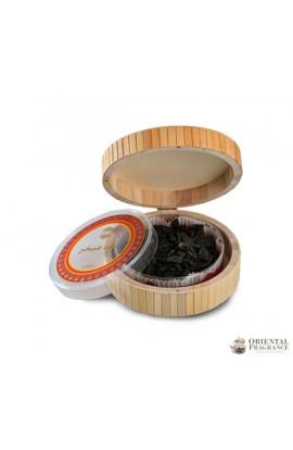 Ajmal Oud Mubakhar 50gms Bamboo Box